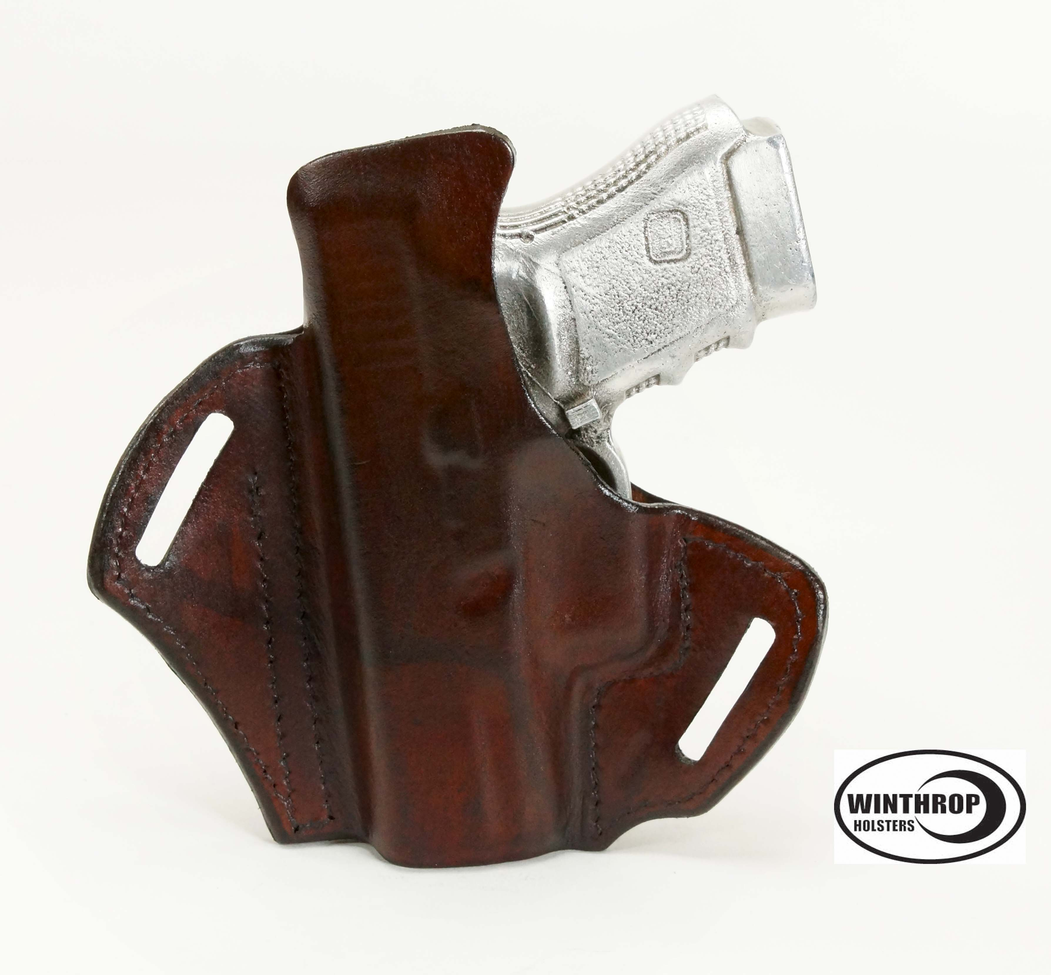 Details about Glock 30 Brown OWB Holster w  BodyshieldGlock 30 Holster Leather