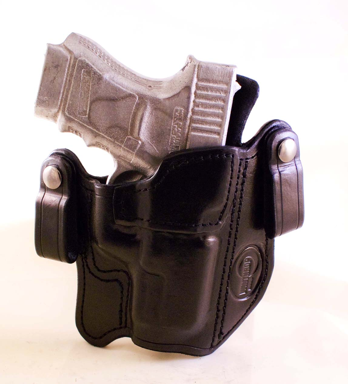 Glock 30 Dual Snaps and Reinforced MouthGlock 30 Holster Leather