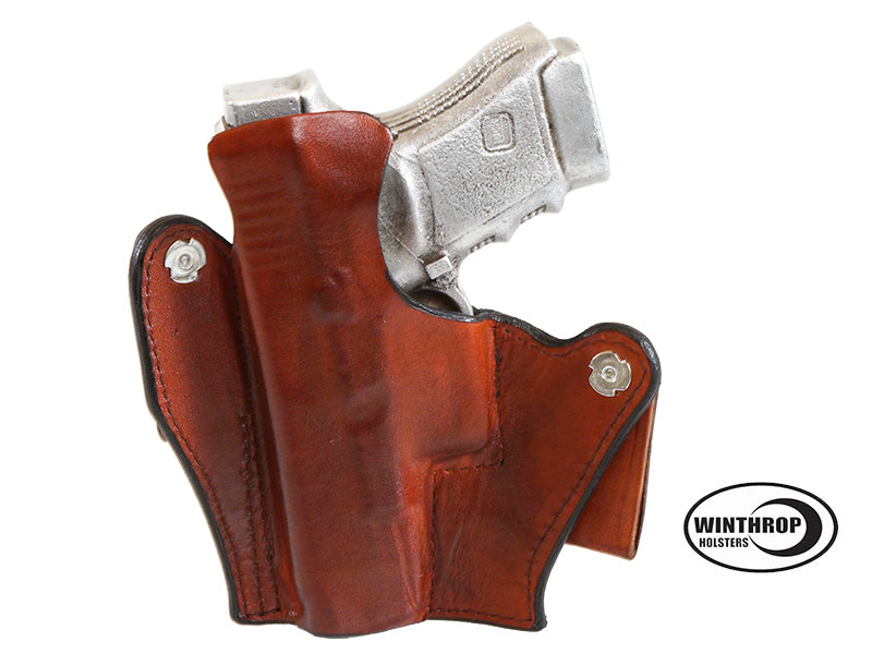 Details about Glock 30 IWB Right Hand Brown Leather Holster Item  0001Glock 30 Holster Leather